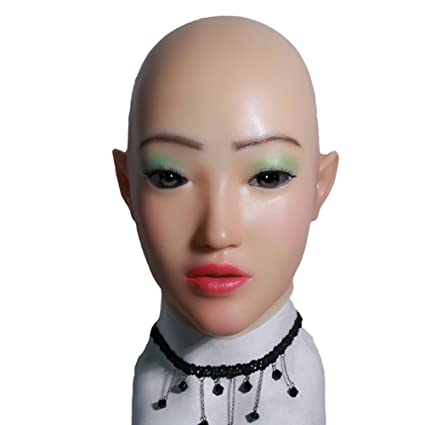 Silicone face mask female
