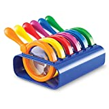 Jumbo Magnifiers, Set of 6 with Stand