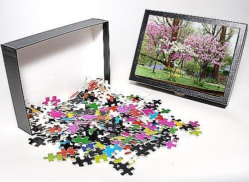 Photo Jigsaw Puzzle of Prunus (Flowering Cherry Tree) in blossom
