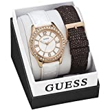 GUESS Leather Ladies Watch W0512L1