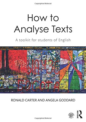 How to Analyse Texts: A toolkit for students of English ...