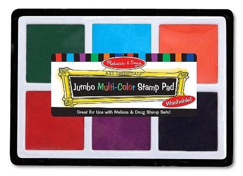 Multi Color Melissa Doug Scratch Mini Pad