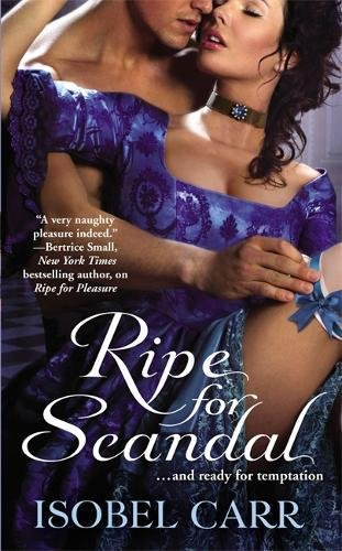 book cover of Ripe for Scandal