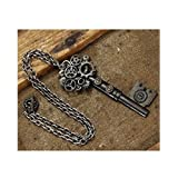 KEY GEAR NECKLACE Steampunk Costume Chain Victorian Antique Hot Seller Item