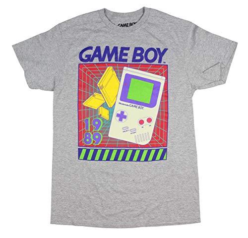 Official Game Boy Men's Retro 1989 Graphic T-Shirt