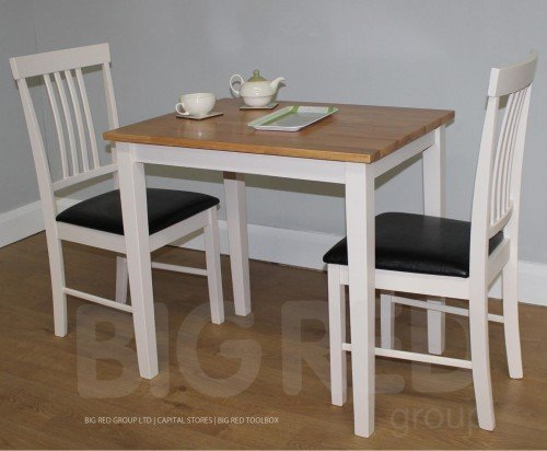 Small kitchen table uk victorian small pine kitchen for Mini dining table and chairs