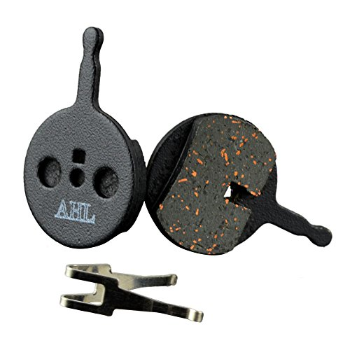 AHL Bicycle Semi-metallic Disc Brake Pads for AVID BB5 BB-5 MTB Bike (1 Pair) (Best Downhill Disc Brakes)