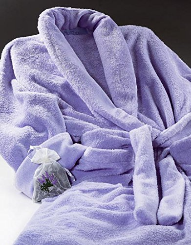(Ultra-luxe Robe - Lilac)