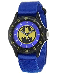Batman Kids' BAT5037 Blue Batman Time Teacher Watch