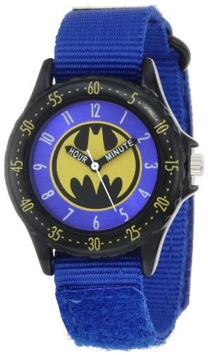 Used, Batman Kids' BAT5037 Blue Batman Time Teacher Watch for sale  Delivered anywhere in Canada