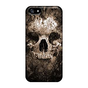 BretPrice Snap On Hard Case Cover Skull Protector For Iphone 5/5s