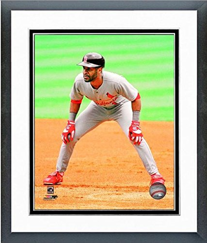 Ozzie Smith St. Louis Cardinals MLB Action Photo (Size: 18'' x 22'') Framed by MLB