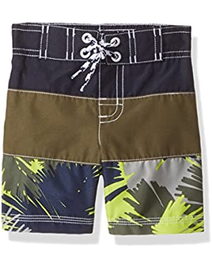 Baby Toddler Boys' Little Adventure Swim Trunks