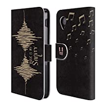 Head Case Designs Wave All About Music Leather Book Wallet Case Cover For LG Nexus 4 E960