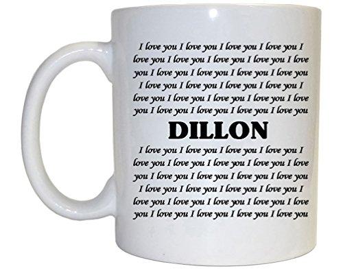 Dillon Mug - I Love You Dillon Mug