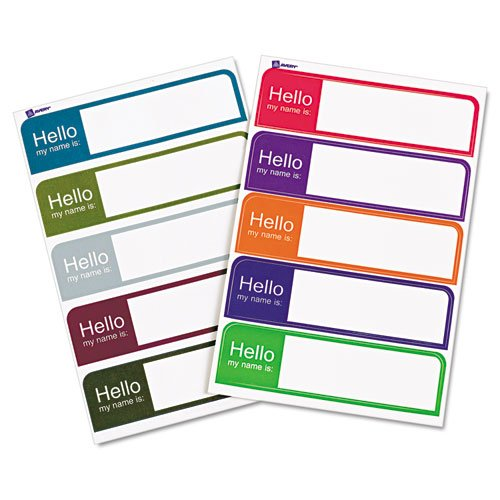 Avery Printable Flexible Labels 100 Pack