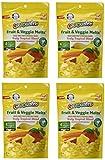 Gerber Graduates Fruit & Veggie Melts - Truly Tropical Blend, 1-Ounce (Pack of 4)