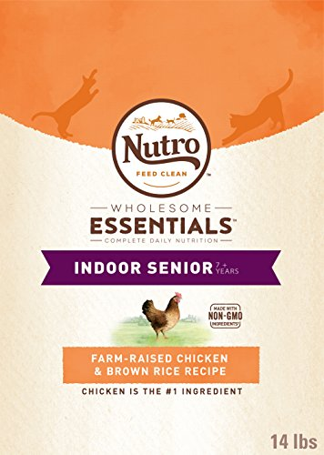 Natural Choice Indoor Senior Cat Chicken and Whole Brown Ric