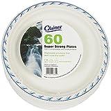 24cm piatti usa e getta Microonde, confezione da 60pasto pronto all' uso alimentare insalate