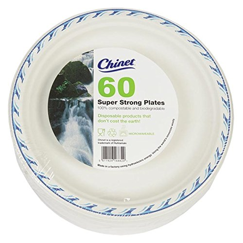Chinet 24cm Disposable Microwave Plates 60 Pack  sc 1 st  Amazon UK & Chinet 24cm Disposable Microwave Plates 60 Pack: Amazon.co.uk: Grocery