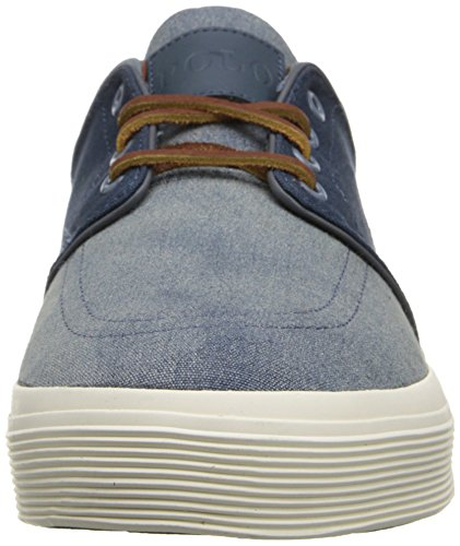Ralph Lauren Faxon Low SK VLc Navy Mens Trainers Navy