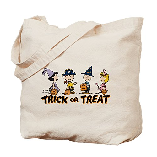 CafePress Tote Bag - The Peanuts Gang: Trick or Treat Tote Bag by CafePress