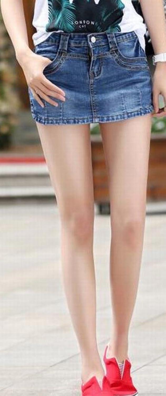 Vska Women's Vintage Summer Fashion Skirts Sexy Denim Shorts