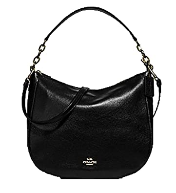 3870b9e8edd9 Amazon.com  Coach Leather Elle Crossbody Hobo Purse -  F31399  Shoes