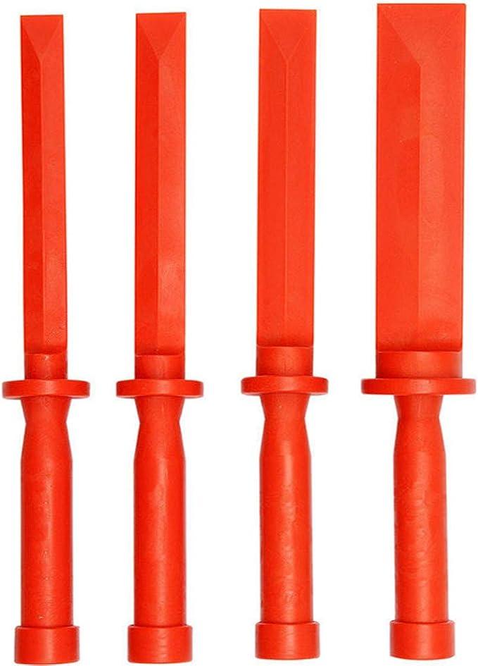 Hengmei 4 Tlg Kunststoffschaber Set 19 22 26 Und 36 Mm Breit Dichtungsentferner Dichtungsschaber Baumarkt