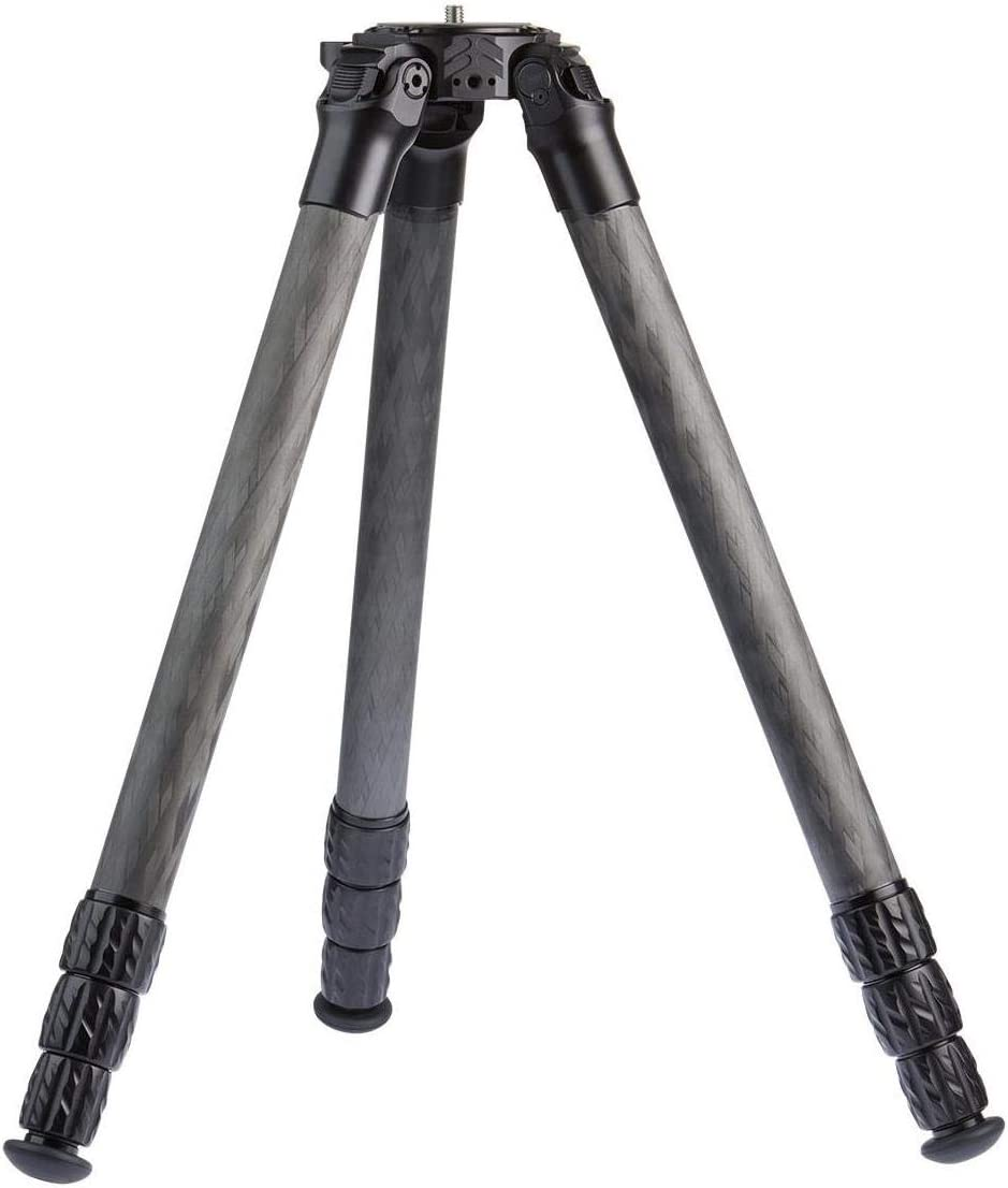 "ProMediaGear Pro-Stix 34 Series 59"" 4 Section Carbon Fiber Tripod with 34mm Diameter Legs, 60 lbs Capacity"