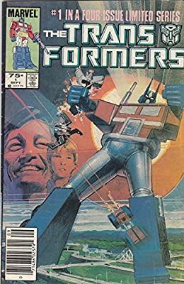 The Transformers, Vol 1 #1 (Comic Book) #1 IN A FOUR-ISSUE LIMITED SERIES