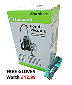 Pondxpert cleanopond pond vacuum cleaner for Garden pond vacuum review