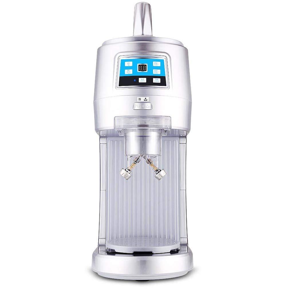 製氷機、業務用ティーショップ製氷機、家やコマーシャルの使用のために完全自動アイスクラッシャー、スノーフレークスムージー B07QRZXJLZ