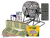 Complete Home Bingo Kit With Authentic Bingo Paper