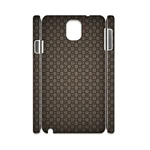 3D Samsung Galaxy Note 3 Case,Damascus Pattern Hard Shell Back Case for White Samsung Galaxy Note 3