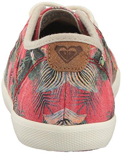 Roxy Kvinna Memphis Snör Åt Upp Mode Sneaker Åtgärda Print