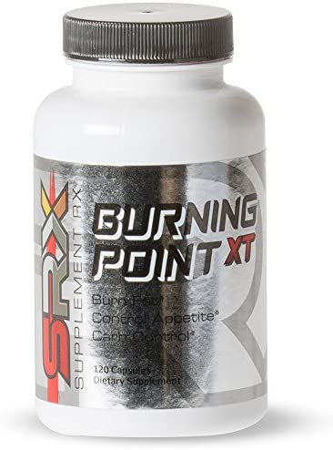 Supplement Rx SRX – Burning Point XT Fat Burner, Thermogenic and Lipotropic, Weight Loss Supplement, Suppress Appetite, Boost Energy, Emulsify Existing Fat, Block Carbs, 120 Capsules