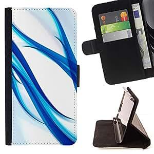 Momo Phone Case / Flip Funda de Cuero Case Cover - Weiß - Samsung Galaxy S4 IV I9500