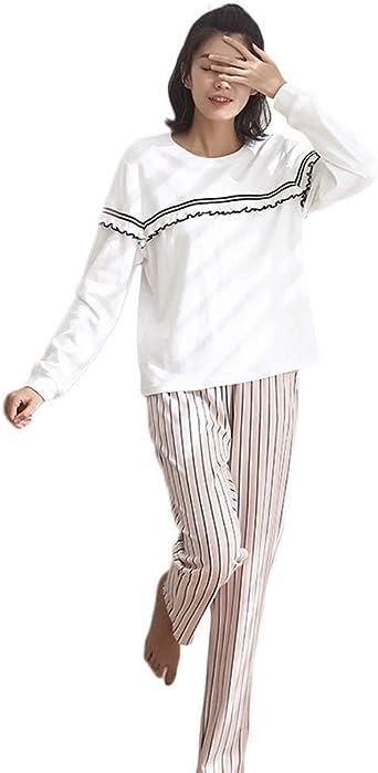 Mujer Conjunto De Pijama Algodon Primavera Otoño Simplemente ...