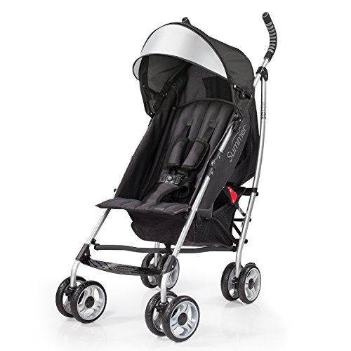 Umbrella Compact Stroller - Summer Infant 3D Lite Convenience Stroller - Black