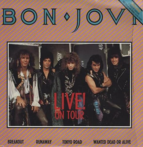 Live! On Tour + Patch/Poster (1987 Rare Poster)