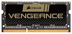 Corsair Vengeance 4GB (1x4GB) DDR3 1600 MHz (PC3 12800) Laptop Memory (CMSX4GX3M1A1600C9)