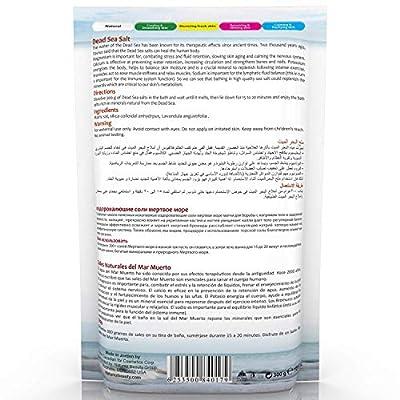 Naturaliz Dead Sea Bath Salts 10.6 oz Natural