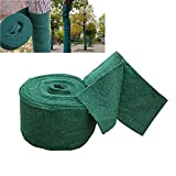 20M/65FT Tree Protector Wrap Winter-Proof Thick Tree Guards Warm Plants Bandage Packing Tree Warm Keeping and Moisturizing 65FT x 5.1 x 0.07 Inches Green