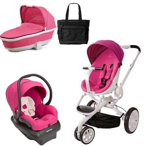 Quinny Pram And Bassinet - 8