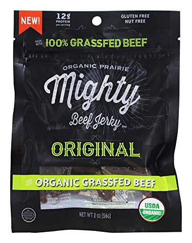 Organic Prairie - Mighty Beef Jerky Peppered