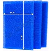 Ray Air Supply 16x20 MicroPower Guard Air Cleaner Replacement Filter Pads (3 Pack) BLUE