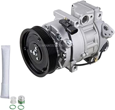 Amazon Com For Hyundai Santa Fe 2013 2014 2015 Ac Compressor W A C Drier Buyautoparts 61 89599r2 New Automotive