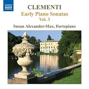 V 3: Early Piano Sonatas