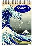 Sketchbook - Hokusai Wave - Top Spiral - Unlined, , 1620099799